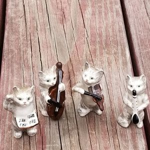 VINTAGE ENGLISH RARE BESWICK MUSICAL CATS